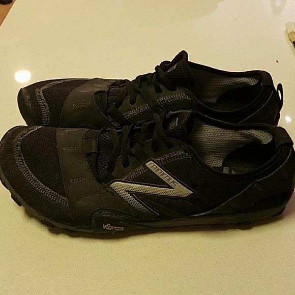 Men's New Balance Minimus Trail Black Sz 12.0